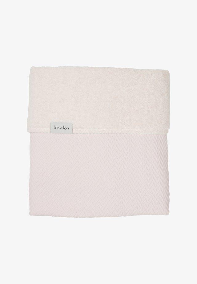 WIEGEDECKE STOCKHOLM - Baby blanket - pink