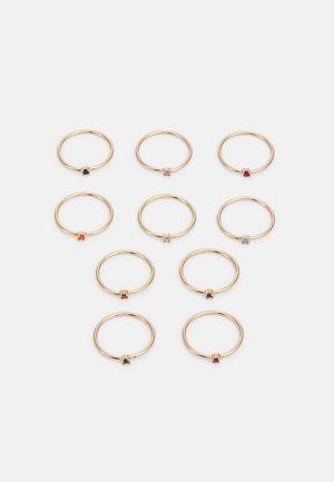 PCJAMULTA 10 PACK - Ring - gold-coloured