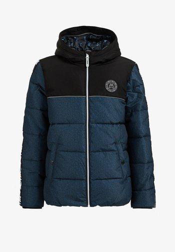 JONGENS GEWATTEERDE JAS - Winter jacket - black