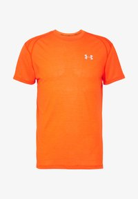 Under Armour - STREAKER SHORTSLEEVE - Sports shirt - ultra orange/reflective - 4