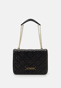 Love Moschino - BORSA QUILTED - Kabelka - black - 1
