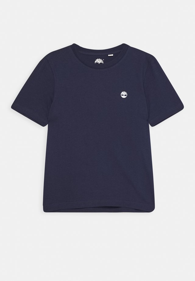 SHORT SLEEVES TEE - Triko s potiskem - navy