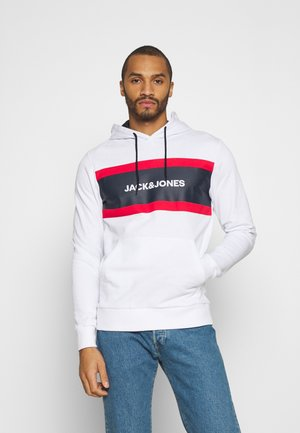 JJSHAKE HOOD - Sweater - white