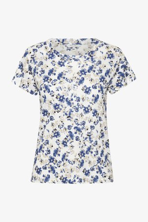 KASSIMAPW  - Print T-shirt - blue flower print