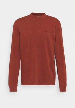 NORSBRO - Long sleeved top - cherry mahogany
