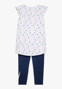 Nike Sportswear - DOT TUNIC SET BABY - Leggings - Trousers - blue void - 1