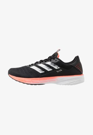 SL20 - Zapatillas de running neutras - core black/footwear white/signal coral