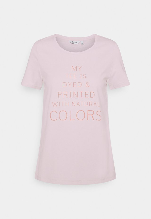 BYPLANET - T-shirt con stampa - hibiscus