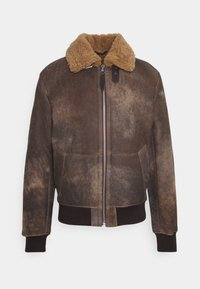 Schott - LCDAKOTA - Leather jacket - brown - 4
