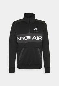 Sweatshirt - black/dark smoke grey/white