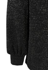 Zizzi - Button-down blouse - black - 4