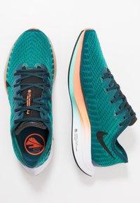 Nike Performance - ZOOM PEGASUS TURBO 2 HKNE - Neutral running shoes - neptune green/black/midnight turquoise/hyper crimson/white - 1