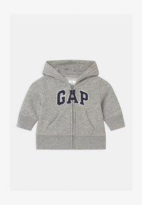 GAP - GARCH  - Hoodie met rits - light heather grey - 0