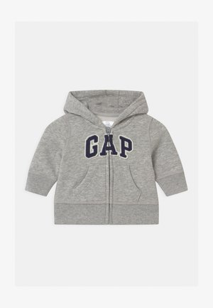 GARCH  - Hoodie met rits - light heather grey