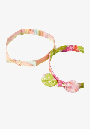 2 PACK - Hair styling accessory - leuchtend bunt/regenbogen/blumen