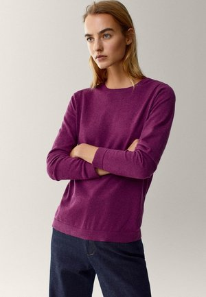 Jumper - dark purple