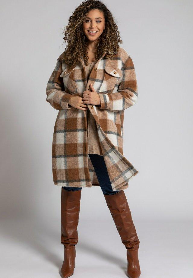 Classic coat - macchiatobruin