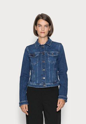 JACKET - Giacca di jeans - blue dark wash