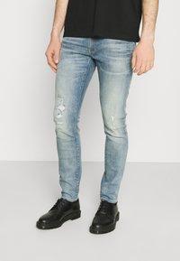G-Star - LANCET SKINNY - Jeans Skinny Fit - vintage cool aqua - 0