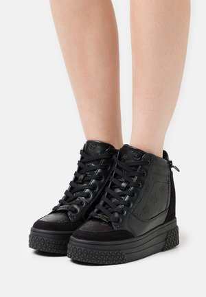 RIGGZ - High-top trainers - black