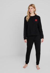 Calvin Klein Underwear - BOLD LOUNGE - Nattøj trøjer - black - 1