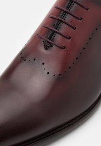 Brett & Sons - Smart lace-ups - natur cherry/rouge - 5
