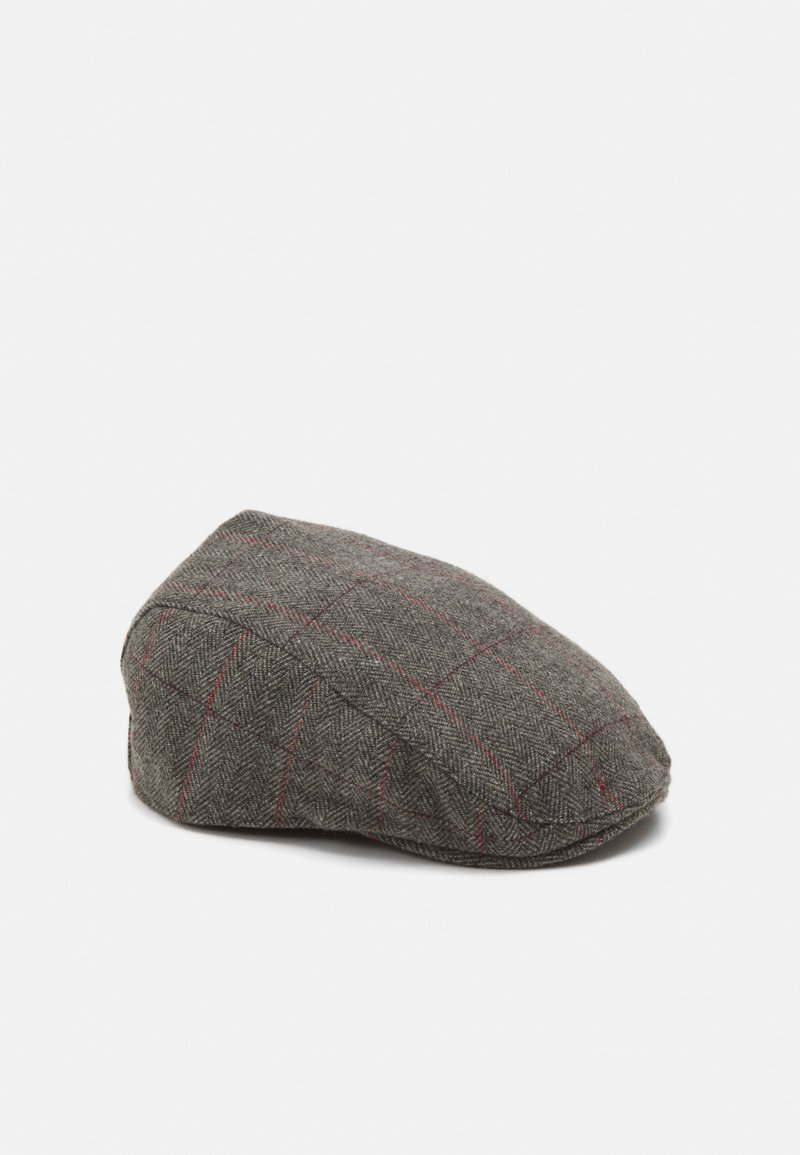 Burton Menswear London - FLAT - Cap - grey