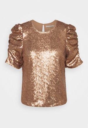 Blouse - bronze