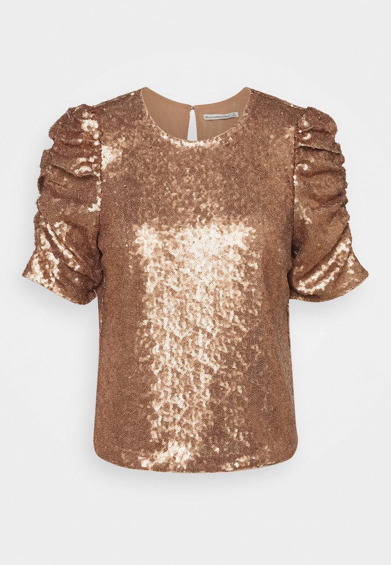Abercrombie & Fitch Bluse   bronze/goldfarben   Zalando.de