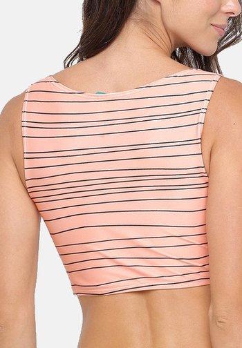 LAGUNA - Bikini top - sand