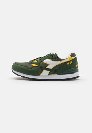 Trainers - green military