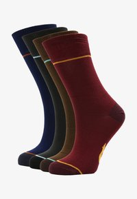 Slopes&Town - 4 PACK - Chaussettes - dark blue - 0
