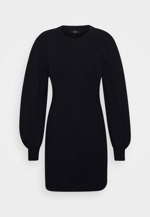 CORSETT DRESS - Robe d'été - black