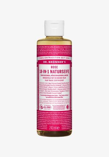 18-IN-1 NATURAL SOAP - Shower gel - rose