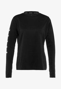 Nike Performance - Pitkähihainen paita - black - 4