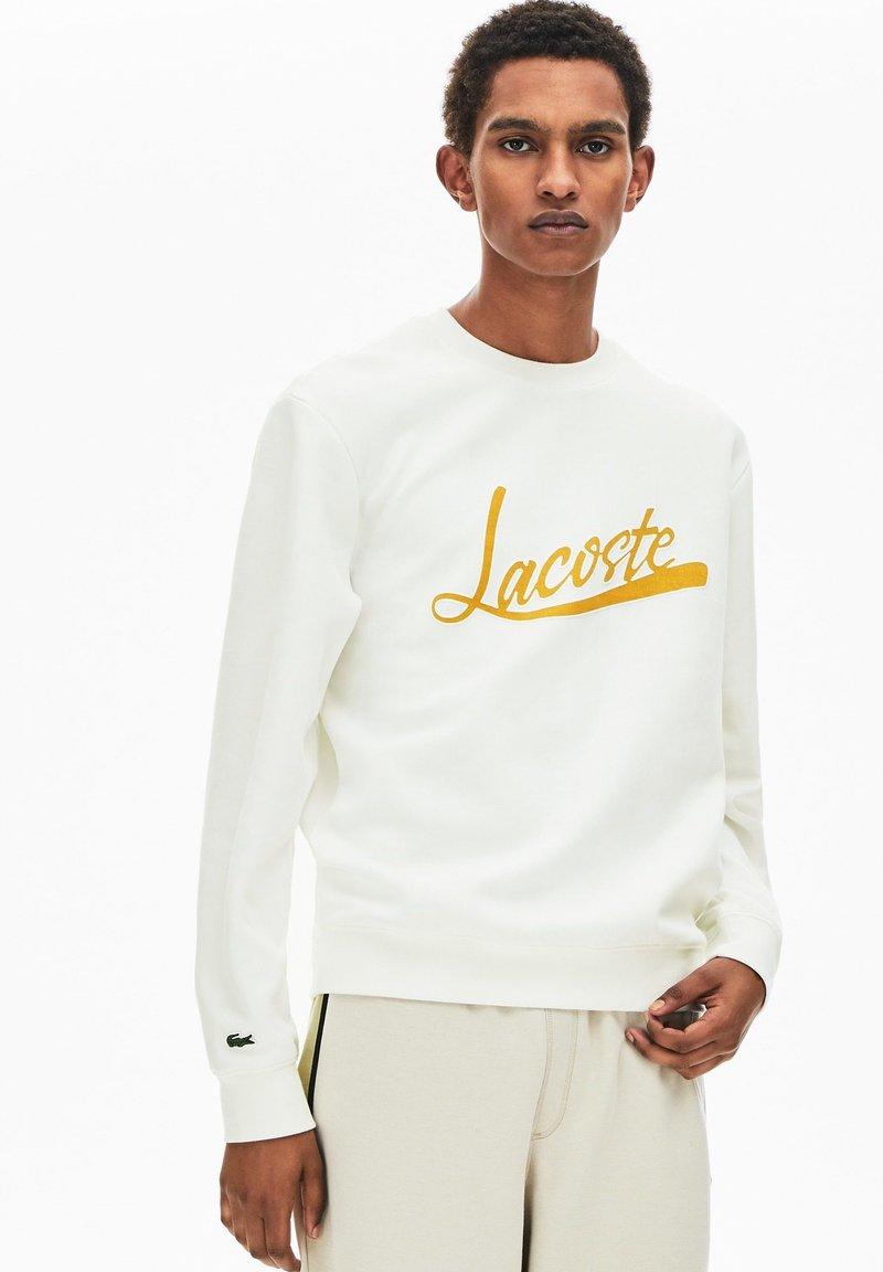 Lacoste - SH4853 - Sweatshirt - blanc