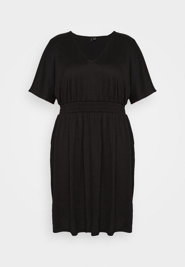 VMRITA SMOCK DRESS - Vestito estivo - black