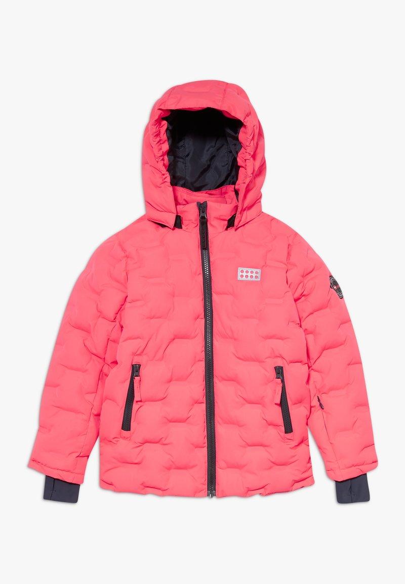 LEGO Wear - LWJIPE 706 - Snowboardová bunda - coral red