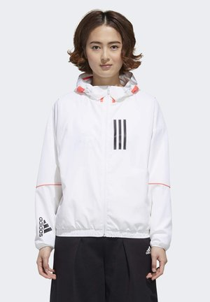 Soft shell jacket - white/black