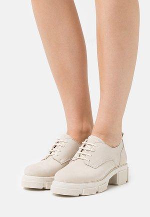 BELICE  - Šněrovací boty - beige