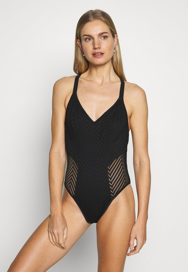 URBAN SOFT PLUNGE SUIT - Costume da bagno - night