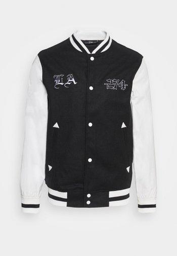 VARSITY JACKET - Summer jacket - white