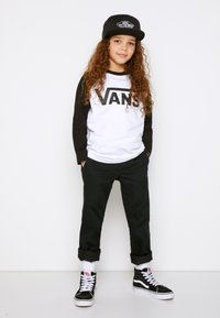 Vans - CLASSIC RAGLAN BOYS - Long sleeved top - white/black - 1