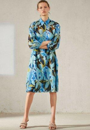 Shirt dress - multi coloured