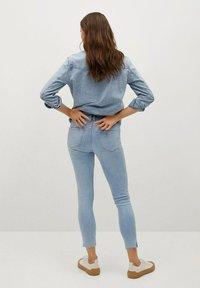 Mango - ISA - Jeans Skinny Fit - lichtblauw - 2