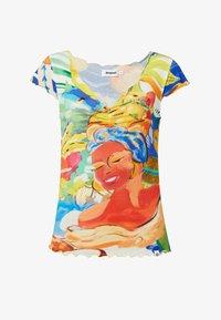 Desigual - T-shirt imprimé - multicolor - 4