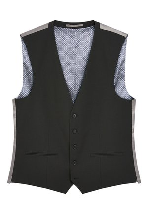 STRETCH TONIC SUIT: WAISTCOAT - Gilet elegante - black