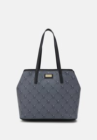 U.S. Polo Assn. - HAMPTON POUCH PRINTED - Shopping bag - black - 0