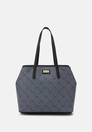 HAMPTON POUCH PRINTED - Shopping bag - black
