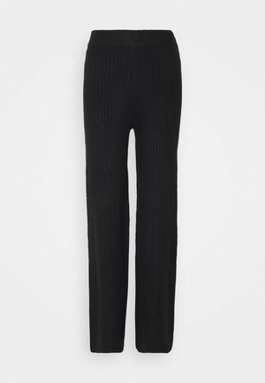 NMSALLY LOOSE PANT - Kalhoty - black